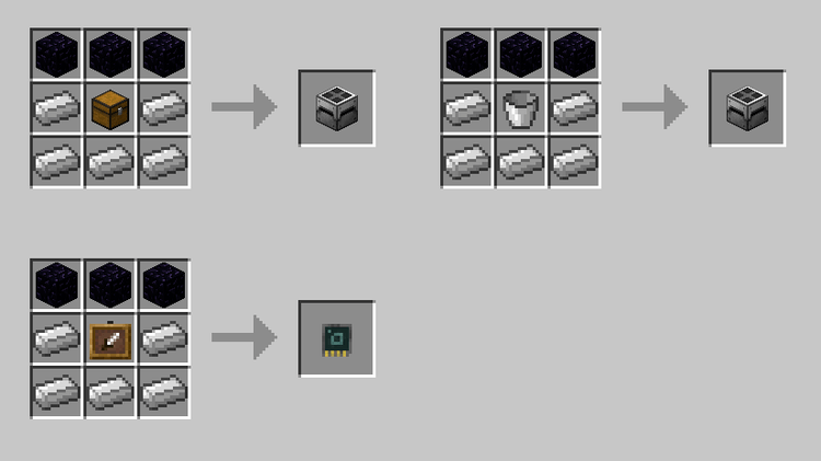 Quantum Storage mod for minecraft 05