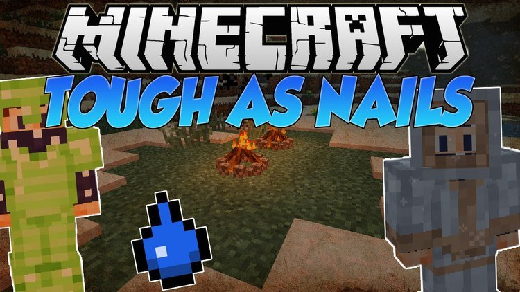 tough as nails mod for minecraft logo