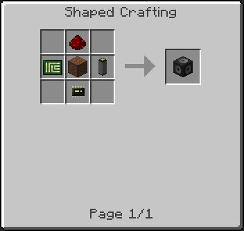 OpenSecurity Mod Crafting Recipes 1