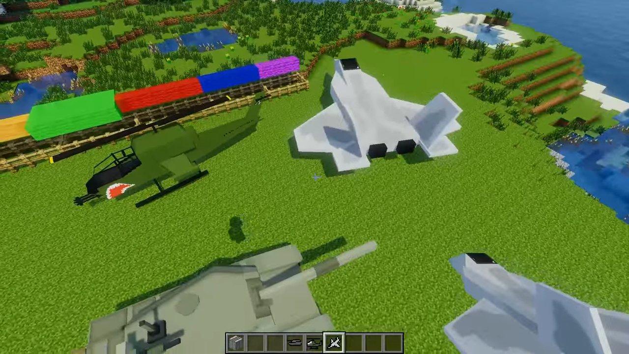 Скачать Flan's для Minecraft 1.7.10 - RU-M.ORG