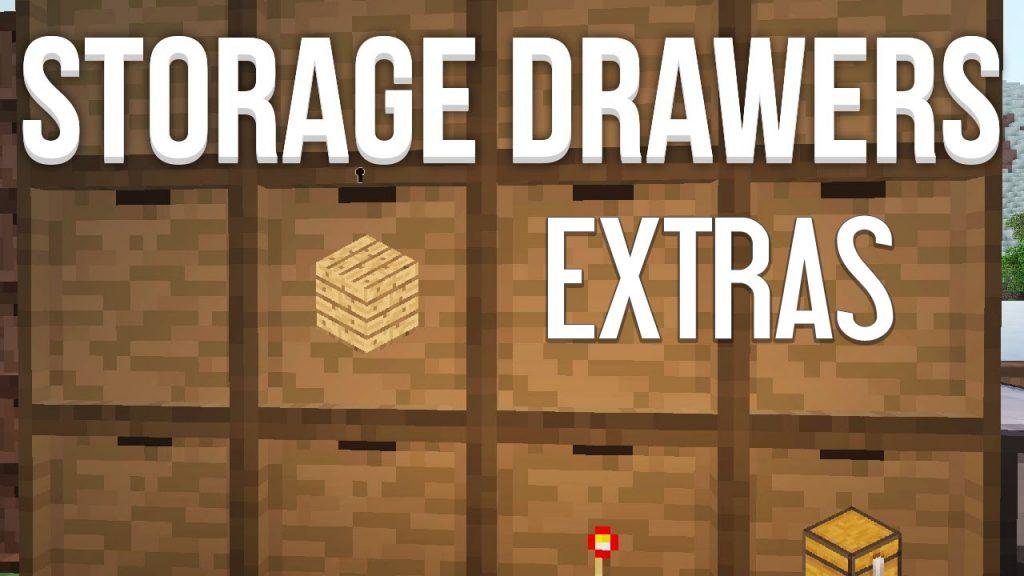 Storage Drawers Extras Mod