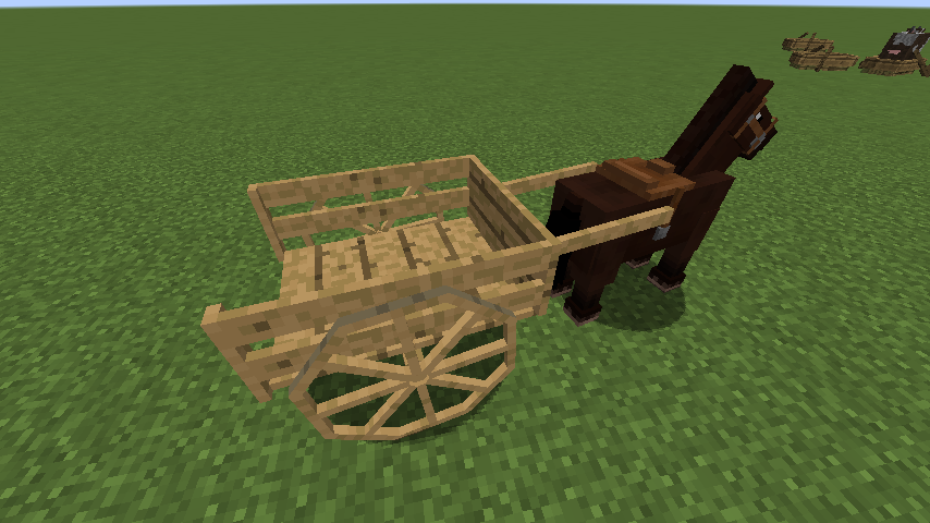 1 7 10] Horse Carts Mod Download | Minecraft Forum