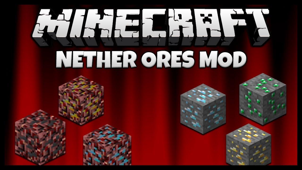 NetherOres Mod