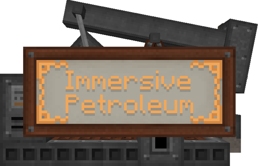 Immersive Petroleum Mod
