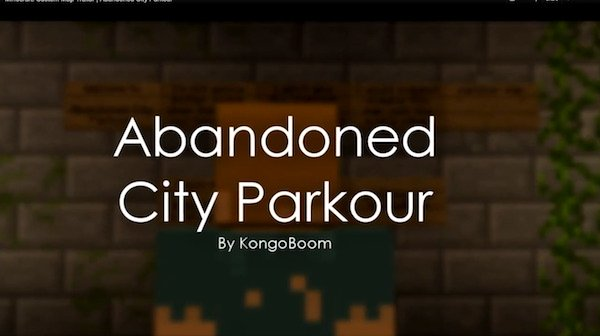Abandoned City Parkour Map
