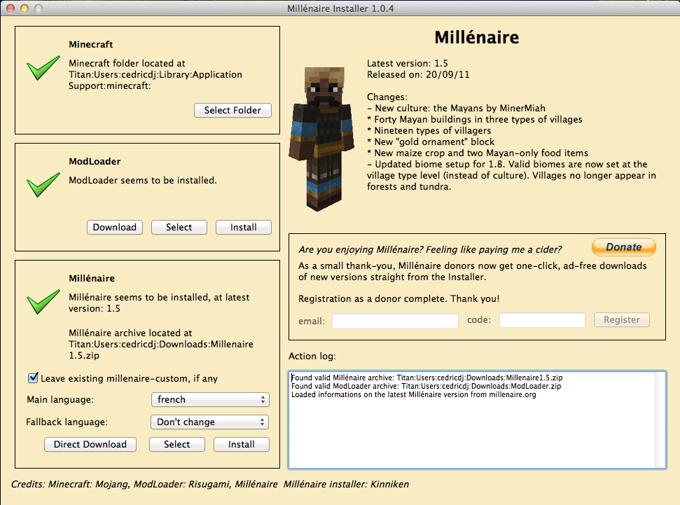 Millenaire Mod 5 [1.5.1] Millenaire Mod Download